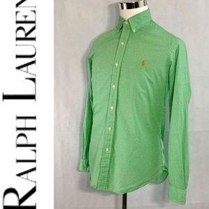 RALPH LAUREN Men's Gingham Dress Shirt